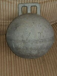Vintage Phillips Deep Sea Trawl Buoy 25 Diameter Used Zinc Metal