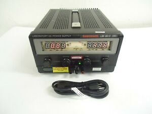 Sorensen Lm 60 3 Laboratory Dc Power Supply With 1 Cable Included