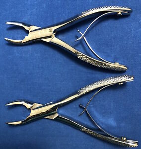 Kls Martin Pedo Dental Extraction Forceps 150c 151c Set Of 2