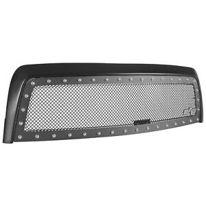 Tidal Fits 2003 2006 Toyota Tundra Rivet Black Wire Mesh Grille With Abs Shell