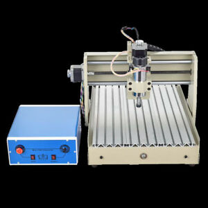400w 3axis 3040t Cnc Router Engraver Desktop Engraving Drilling Cutting Milling