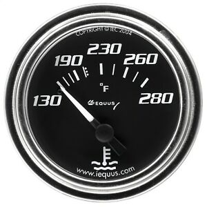 Equus 7232 7000 Series Water Temp Gauge
