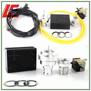 Universal Electrical Turbo Diesel Dump Valve Vacuum Blow Off Valve Bov Kit