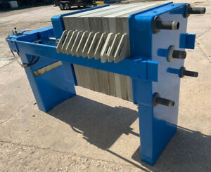 630 Mm Cgr Jwi Filter Press With Rebuilt Cylinder And New Hydraulics