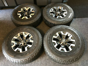 2019 Complete Set Toyota Tacoma Trd Off Road Oem 16 Wheels Tires Tpms