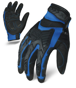 Ironclad Gloves Exo2 migb Motor Impact Protection Blue Black Select Size