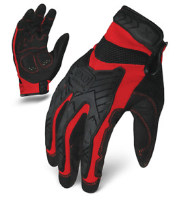 Ironclad Gloves Exo2 migr Motor Impact Protection Red Black Select Size