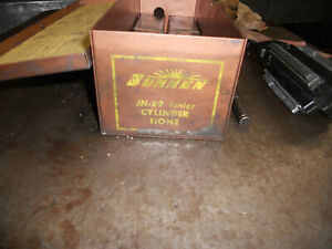 Sunnen An 89 P0rtable Cylinder Hone With 7 Sets Of Honing Stones