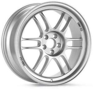 Enkei Rpf1 17x7 5 5x112 48mm Silver Wheel 3797754448sp