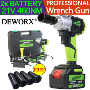 Heavy Duty Cordless Impact Ratchet Wrench Gun 1 2 Drive Wrench Disassembly