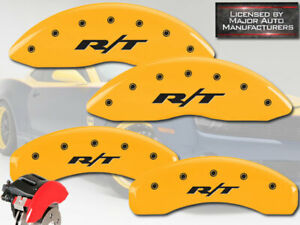 2006 2010 Dodge Charger Se Sxt Front Rear Yellow Mgp Brake Caliper Covers rt