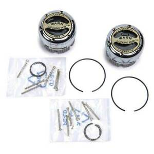 Warn 20990 Premium Manual Lock Out Hub Set Internal Dana 44