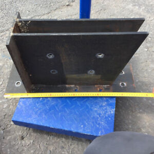 Rafter Beam Brackets 10mm Plate Steel For Timber Joist Roof Supports 4 Brackets