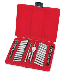 New Snap on 1 4 Drive 44pc General Service Set 144tmpb