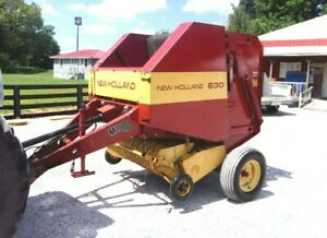 New Holland 630 Round Baler Size 4 X 4 Can Ship 1 85 Mile