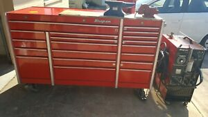Snap On Tool Box With Tools And Mig Welder 250 Sl