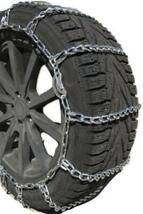 Snow Chains 305 70 18 Lt 7mm Square Alloy Tire Chains W cams Spring Adjuster