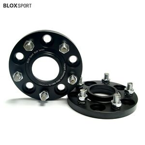 2x 15mm Hub Centric Wheel Spacers For Hyundai Mazda Mitsubishi 5x4 5 67 1 W Lug