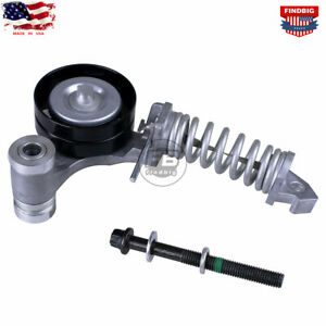 Serpentine Belt Tensioner For Chevy Cruze Sonic 1 4 2011 2016 Fit Gm 25195388