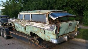 Door Ford Wagon 4 Door 1957 1958 57 58 Rancharo Fairlane