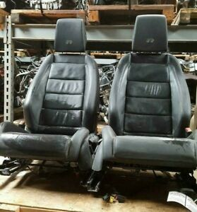 Volkswagen Golf R Front Seats 4dr 2010 2014 Bucket Leather