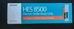 Hes 8500 Electric Strike Body Satin Stainless 12 24v Up To 3 4 Throw Latch Bolt
