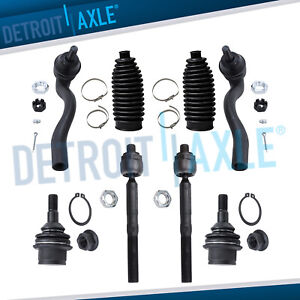 For 2011 2014 2015 Durango Grand Cherokee Ball Joints Inner Outer Tierods
