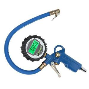 Car Tire Air Pressure Inflator Gauge Lcd Display Vehicle Inflation Monitor Bt