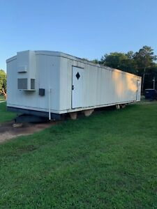 Mobile Modular Office School Trailer 14 X 52 X 8 Pulled From High School