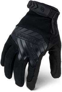 Ironclad Iext pblk Command Tactical Pro Touchscreen Black Gloves select Size