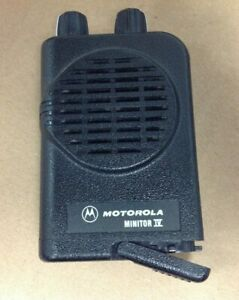 Motorola Minitor 4 Minitor Iv Pager Only a03kus7238ac 1 Frequency Vhf