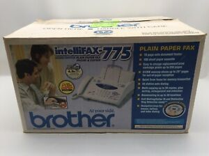 Brother Intellifax 775 Fax Machine Home Office Business Equipment