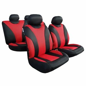 Full Set Seat Covers Mesh Seat Cover Universal Fit For Toyota Tacoma 1999 2019