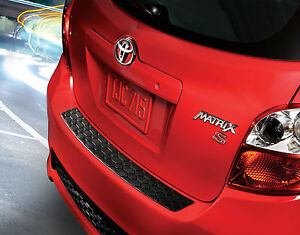 Genuine Toyota Rear Bumper Protector For The 2011 2013 Toyota Matrix new Oem