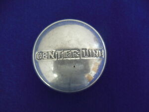 Centerline Wheel Cap Polished Silver Apx 2 3 4 Wide