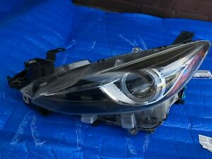 2014 2016 Mazda 3 Headlight Xenon Touring Left Driver Side Oem