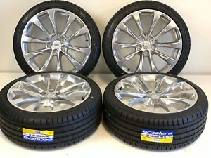 20 Cadillac Ct6 Xts Cts 08 19 20 Factory Oem Wheels Rims Tire Polished Tpms
