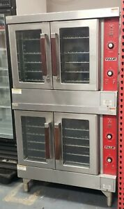 Vulcan Vc4ed 9 Electric Double Stack Full Size Convection Ovenmodel vc4ed 9