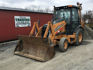 2014 Case 580sn 2wd Tractor Loader Backhoe W Cab Extendahoe Coming Soon