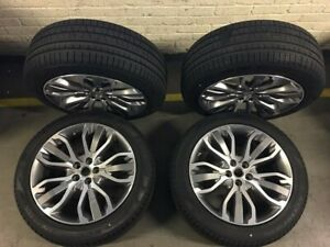 Range Rover 21 Oem Factory Original 5007 Style 507 Wheels Rims And Tires Sport