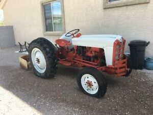 1953 Ford Golden Jubilee Naa Tractor With Gannon