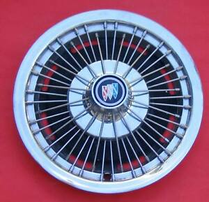 Buick Straight Wire Wheel Cover No Spinner Nice 1971 1972