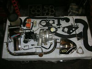 Corvair 1966 Turbo Kit Very Complete All New Chrome Turbo Carb Fully Rebuilt