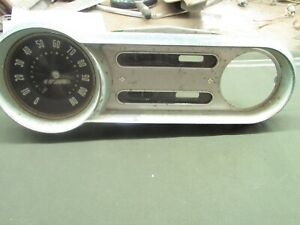 1953 54 Chevrolet 150 210 Belair Gauge Cluster Assembly