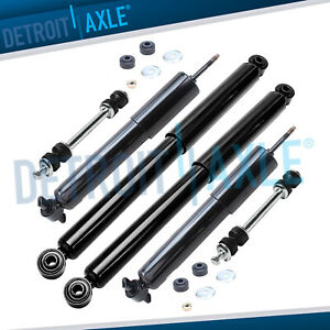 Chevy Silverado Gmc Sierra 1500 Shocks Absorbers Sway Bars For Front Rear 2wd