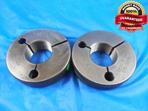 1 1 8 18 Ns Thread Ring Gages 1 125 Go No Go P d s 1 0889 1 0849 1 1 8 18