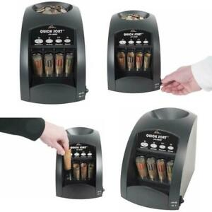 Electric Coin Counter Sorter Machine Money Counting Digital Display Anti jam New