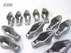 Qty 12 Comp Cams Magnum Roller Rocker Arms 1 6 Ratio 3 8 For Sbc