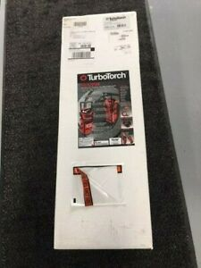 Turbotorch Tdlx2010b Rolling Cart Acetylene Carrier Kit 0386 0578 Complete Kit