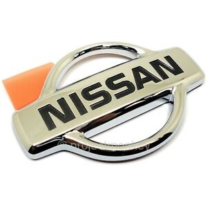Oem Nissan 84890 85f01 Silvia S15 Rear nissan Emblem Chrome Genuine Part Jdm